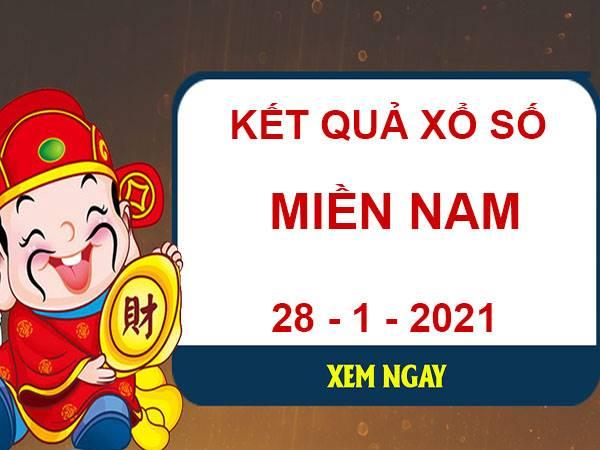 Phân tích XS Miền Nam thứ 5 ngày 28/1/2021