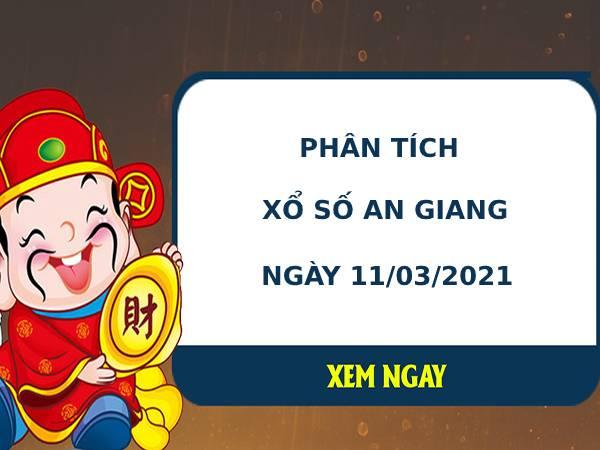 Phân tích kết quả XS An Giang ngày 11/03/2021