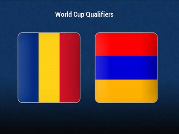 Tip kèo Romania vs Armenia – 01h45 12/10, VL World Cup 2022